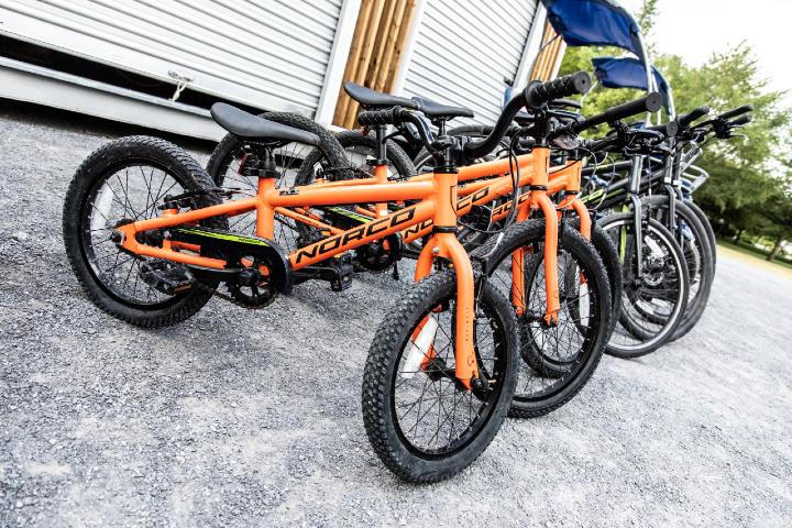 Vélos en location au Parc Jean-Drapeau