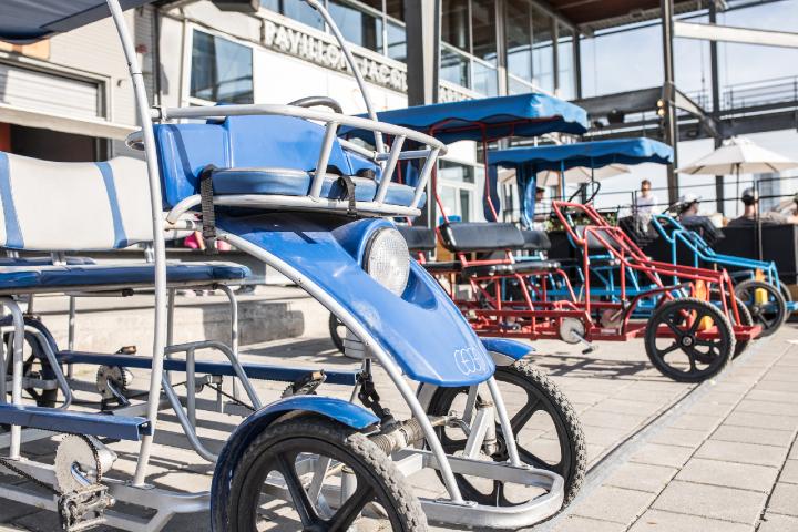 Location quadricycle Vieux-Port de Montréal