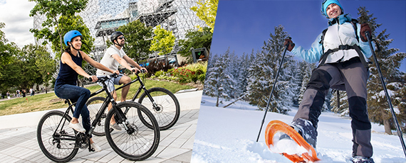 place-discover-bike-snowshoe